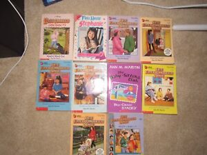 """""""The Baby Sitters Club"""" 10 Book Bundle"""