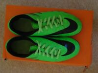 Nike Hyper Phade Firm Ground FG Football / Rugby Boots Size 3 EU 35.5