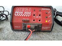 Model Protech MEGA Peak 300 7.2volt / Tx / Rx battery charger, car and main power