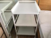 Nappy changing table - very good condition