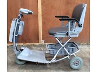 Small Folding Mobility Scooter Aquasoothe Trave-lite