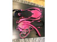 Body Glove snorkling equipment.