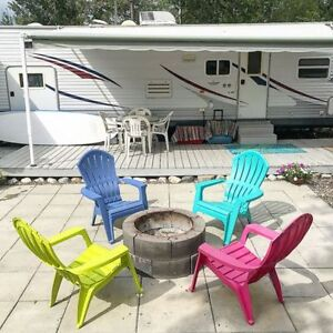 Awesome Trailer & Bunk house (w/ WC)  on Leased Lot Candle Lake