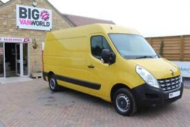 2013 RENAULT MASTER MM35 DCI 125 MWB MEDIUM ROOF QUICKSHIFT VAN MWB DIESEL