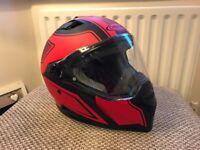 Caberg Stunt motorcycle helmet (small) - £80