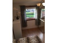 Comfortable room available in two bedroom flat