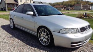 Audi S4 B5 2001 stage 3 heavily modified!
