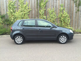 2008 08.REG VW POLO 1.4 SE AUTOMATIC 5 DR IN GREY 69K 12 MONTHS M.O.T