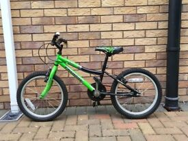 Cross country Boys Bicycle. 14 inch wheel size.