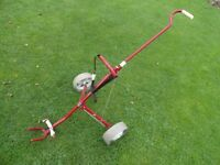 Titleist Turfglider folding golf trolley