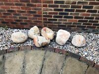 Collection of Decorative Garden Rock Boulders for Sale