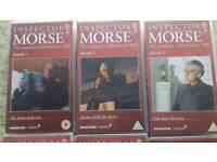 Inspector morse VHS videos