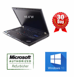 """Lenovo Laptops DEALS from $237, 12"""" 14"""" 15"""" T410 T510 T520 W510"""