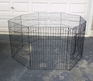 Dog playpen dog run puppy fence