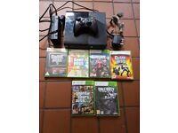 Xbox 360 & 6 games