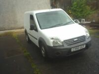Ford Transit Connect, 2010 White