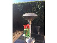 Patio Table Top Heater with Gas Bottle