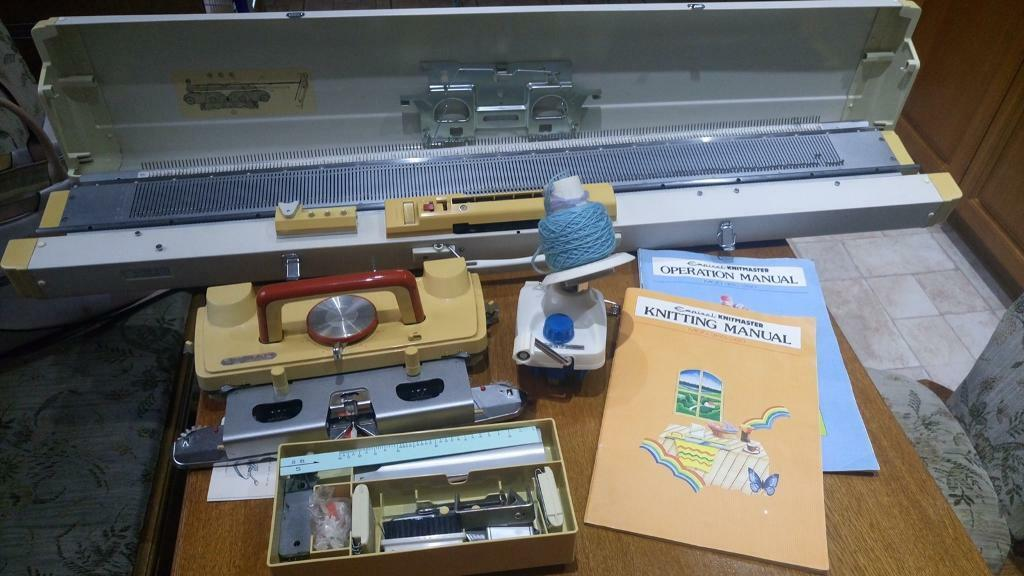 Vintage Empisal KnitMaster knitting machine for sale   in Doncaster ...