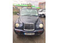 LONDON BLACK TAXI LTI TX1 Y REG 2001 MIDNIGHT BLUE AUTOMATIC DIESEL