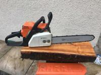 Ms170 chainsaw