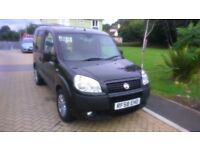 fiat doble dynamic 1.4 wheelchair accessible vechicle £3250 ono .3400 miles only