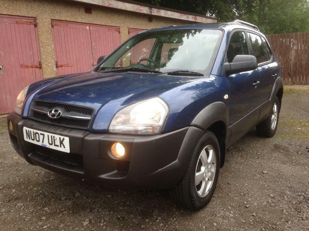 hyundai tucson 07 model 4x4 look at this price in hamilton south lanarkshire gumtree. Black Bedroom Furniture Sets. Home Design Ideas
