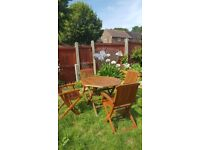 Garden table and chairs /patiio set