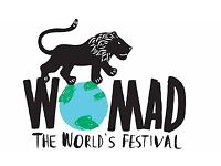 Womad Campervan Ticket Sold Out!!