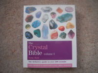 The Crystal Bible by Judy Hall volumes 1, 2 and 3.
