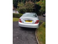 Mercedes Benz C200 Cdi silver automatic