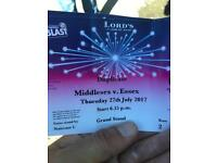 Middlesex v Essex T20 cricket tickets