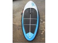 """Starboard Wide Point 8'10 x 32"""" blue CARBON SUP board Used in Very Good Condition"""