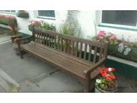 8ft bench and table
