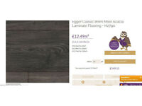 10 square meters of laminate floor new in box cost 149.11