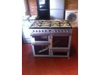 MLN10FRS Brand New Graded A Dual Fuel 100cm RANGE COOKER sale on today PRP £749.99