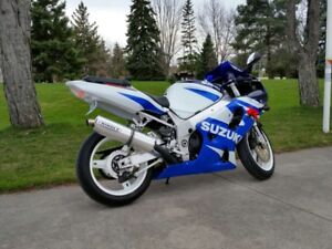 GSXR 750 2001 Hindle Bolt On Exhaust Pipe