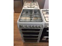 #4 New Ex-Display Hotpoint HUG52P 50cm gas cooker in white £249