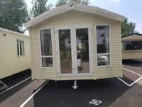 Caravan at Seawick holiday park