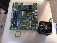 IPMEL-AE Pegatron Socket 775 Motherboard +CPU E3200+CPU + FAN - P/N 570948-001