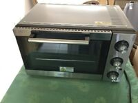 Mini Oven. Fan Assisted. Stainless Steel. Great Condition. Barely used.