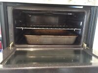Candy silver double built in oven in good working condition