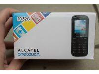 Vodafone Alcatel 10.52 Pay As You Go Mobile Phone Handset - Black