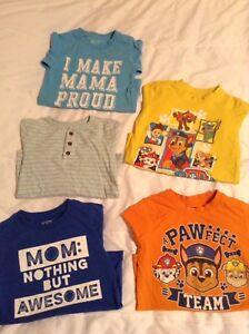 Boys 5T Short Sleeve Shirts