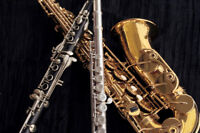 Flute, Clarinet, Saxophone, Piano Lessons