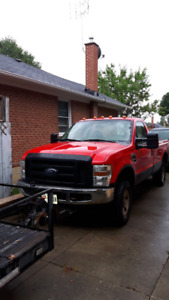 2008 FORD F 250 GAS RUNNING