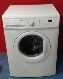 S502 white zanussi 6kg 1600spin washing machine comes with warranty can be delivered or collected