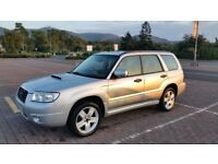 Subaru forester XTE 2005 facelift, manual, LOW TAX model