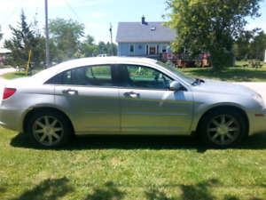 2007 Chrysler Sebring Ltd. $1800 OBO As is
