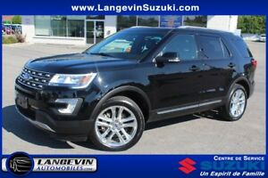 2016 Ford Explorer XLT/CUIR/GPS/4WD/TOIT PANORAMIQUE