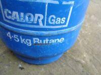 # # MOTORHOME / CAMPER /CAMPING 4.5 CALOR GAS FULL BOTTLE £20 # #